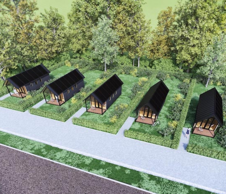 Tiny houses Hurdegaryp